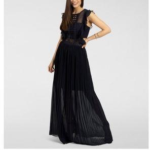 Dress , navy blue
